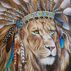 (CreativeWork) SOLOMON by Nicolee Payne. Oil. Shop online at Bluethumb.