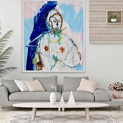 (CreativeWork) The Divinity by Shane Bowden. Acrylic. Shop online at Bluethumb.