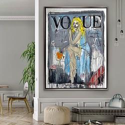 (CreativeWork) VOGUE +ORANGES  by Shane Bowden. Acrylic. Shop online at Bluethumb.