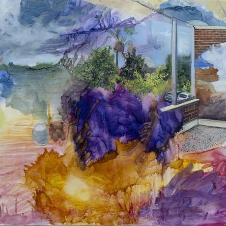 (CreativeWork) Glenferrie Road Studio by Marco Corsini. Oil. Shop online at Bluethumb.