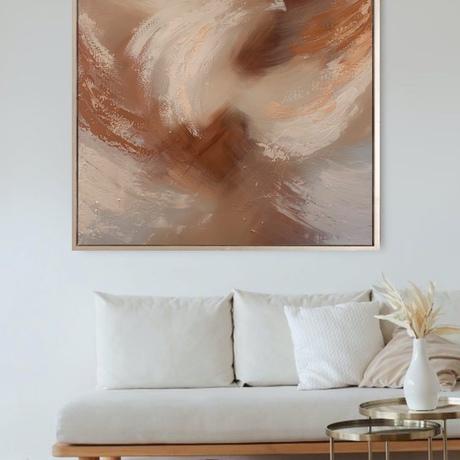 (CreativeWork) Sahara Sands by Ashley Bunting. Mixed Media. Shop online at Bluethumb.