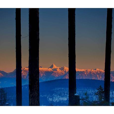 (CreativeWork) Fisher Peak Ed. 1 of 15 by Heather Faulkner. Photograph. Shop online at Bluethumb.