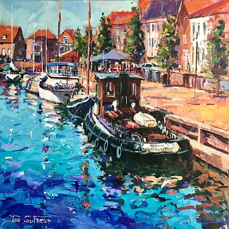 Boats in Dutch harbour