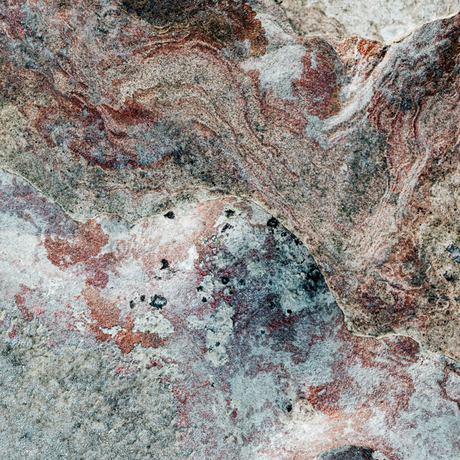 Macro aerials of geological formations on soft sandstone of Cable Beach Broome