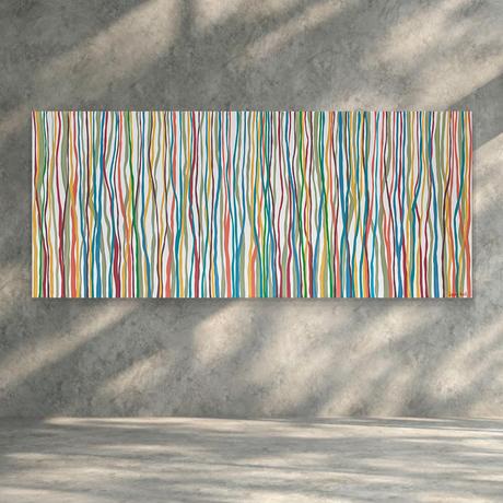 Abstract minimal art on canvas gumtrees