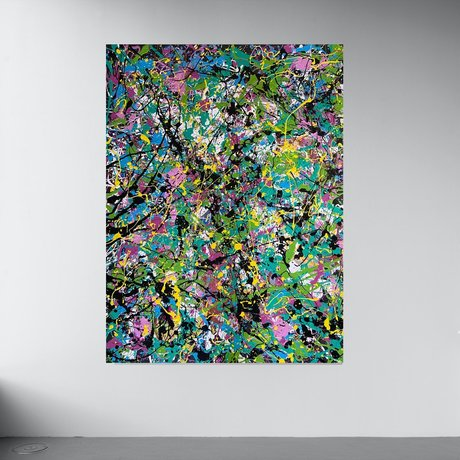 Bright Bold Abstract Art Colours