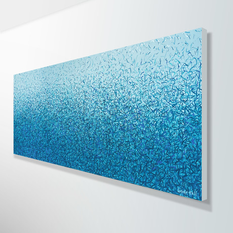 Blue Water Dance Painting