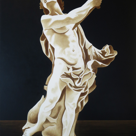 """(CreativeWork) """"Death of the renaissance"""" by David Rellim. Oil. Shop online at Bluethumb."""
