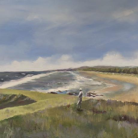 (CreativeWork) ACROSS FROM HASTINGS POINT by Paul Harbour. Acrylic. Shop online at Bluethumb.