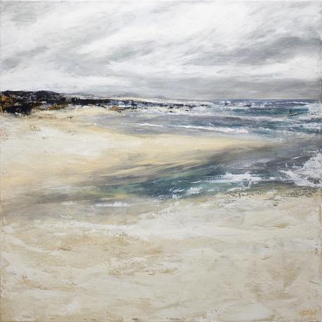 (CreativeWork) Angels Beach by Fredrick Wales. Acrylic. Shop online at Bluethumb.