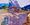 (CreativeWork) Driving Towards Dusk, Flinders Ranges by Lise Temple. Oil. Shop online at Bluethumb.