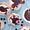 (CreativeWork) Blueberry meringues #2 by Sandra Jenkins. Oil. Shop online at Bluethumb.