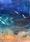 (CreativeWork) Big blue by Leah Dodd. Mixed Media. Shop online at Bluethumb.