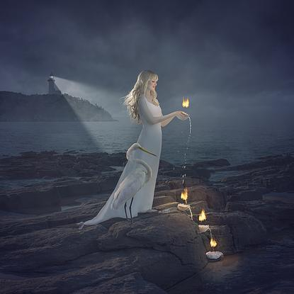 (CreativeWork) Siren (Light) Ed. 1 of 25 by Jane Long. Photograph. Shop online at Bluethumb.