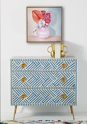 (CreativeWork) Vibrant Arrangement by Ashley Bunting. Oil. Shop online at Bluethumb.