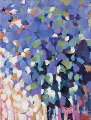 (CreativeWork) Social Scene by Catherine Fitzgerald. Acrylic. Shop online at Bluethumb.