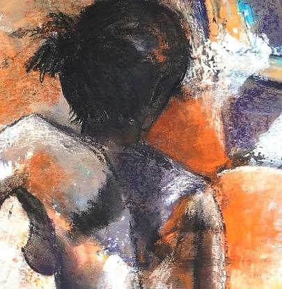 Life drawing has been the backbone of all my art since studying Fashion Design at the Brisbane Technical College many years ago.  The human body is one of the most difficult subjects fro any artist and adding colours adds to the image.