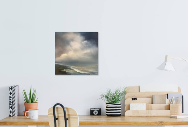 (CreativeWork) From Above 9 by Elaine Green. Oil. Shop online at Bluethumb.