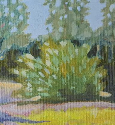 (CreativeWork) Oxley Common #2 by Karen Cipressi. Oil. Shop online at Bluethumb.
