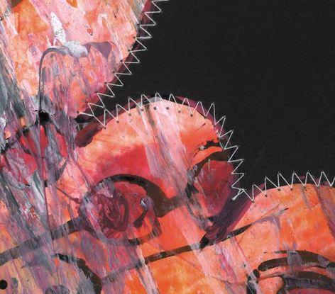 (CreativeWork) Stitch 08 by Talia King. Mixed Media. Shop online at Bluethumb.