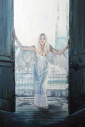 (CreativeWork) Blue Angel (Limited ed. 1 of 20) Ed. 1 of 20 by Mertim Gokalp. Reproduction Print. Shop online at Bluethumb.