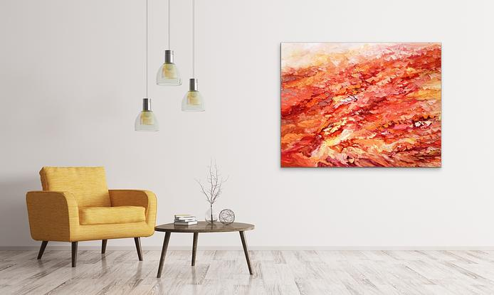(CreativeWork)  Daylesford lake by Theo Papathomas. Oil. Shop online at Bluethumb.