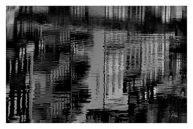 (CreativeWork) P 043 Reflection B&W Ed. 1 of 200 by Peter Henning. Photograph. Shop online at Bluethumb.