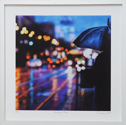 (CreativeWork) 'HEADING HOME' in White Box Frame Ed. 2 of 15 by Todd Simpson. Reproduction Print. Shop online at Bluethumb.