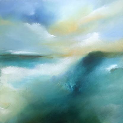(CreativeWork) Apollo Bay Part II by Joanne Duffy. Acrylic. Shop online at Bluethumb.