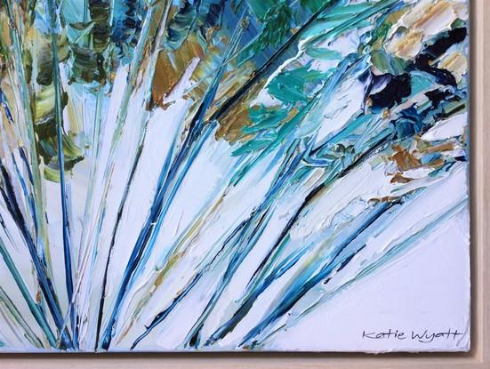 (CreativeWork) Bailey by Katie Wyatt. Acrylic. Shop online at Bluethumb.
