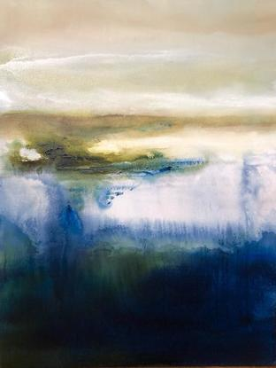 (CreativeWork) Solitude Wakes by Joanne Duffy. Oil. Shop online at Bluethumb.