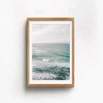 (CreativeWork) Ocean Hues by Chloe Shire. Reproduction Print. Shop online at Bluethumb.