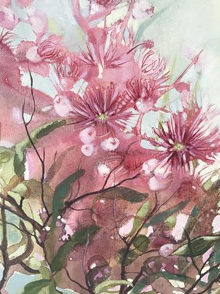 (CreativeWork) Hope Blooms by Leanne Manns. Acrylic. Shop online at Bluethumb.