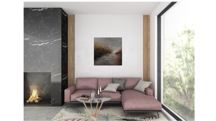 (CreativeWork) Dream Of You by Ivona Radic. Acrylic. Shop online at Bluethumb.