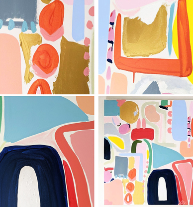(CreativeWork) Patience by Ellen McKenna. Acrylic. Shop online at Bluethumb.