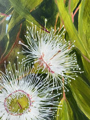 (CreativeWork) Gentle Distraction  by Kate Gradwell. Acrylic. Shop online at Bluethumb.