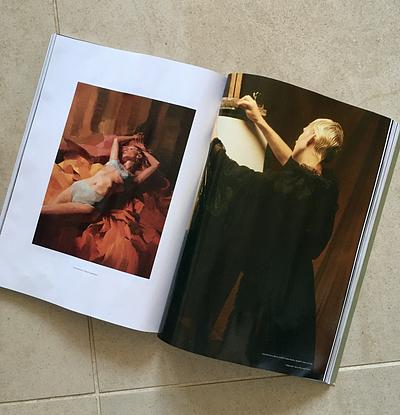 (CreativeWork) RUSSH Magazine collaboration by Colleen Stapleton. Oil. Shop online at Bluethumb.