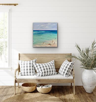 (CreativeWork) Summer's Here - Rare Original   by Pip Phelps. Acrylic. Shop online at Bluethumb.