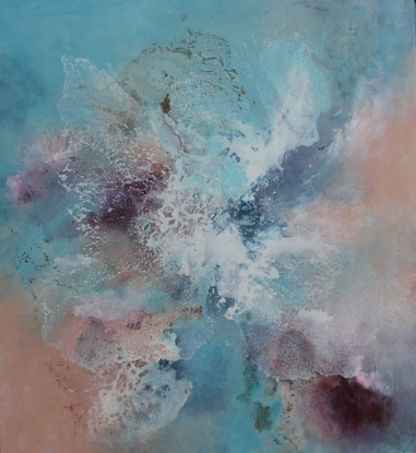 (CreativeWork) Majestic by Sue Dyde. Mixed Media. Shop online at Bluethumb.