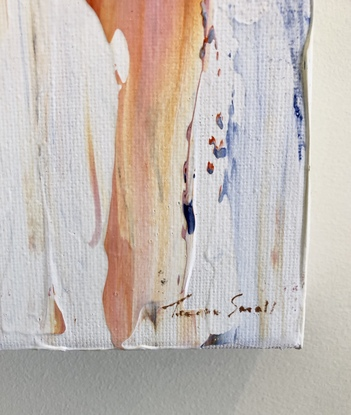(CreativeWork) Fire and Ice #1 by Teresa Small. Acrylic. Shop online at Bluethumb.