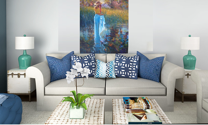 (CreativeWork) 'PRIVATE SANCTUARY - Fabulous Investment Art!!! by Robert Hagan. Oil. Shop online at Bluethumb.